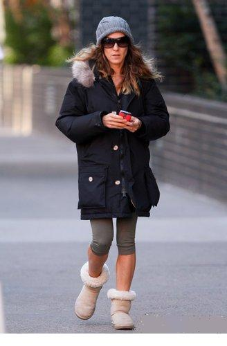 Sarah Jessica Parker in New York city