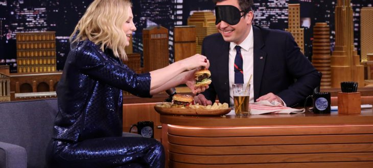 Cate Blanchett και Jimmy Fallon