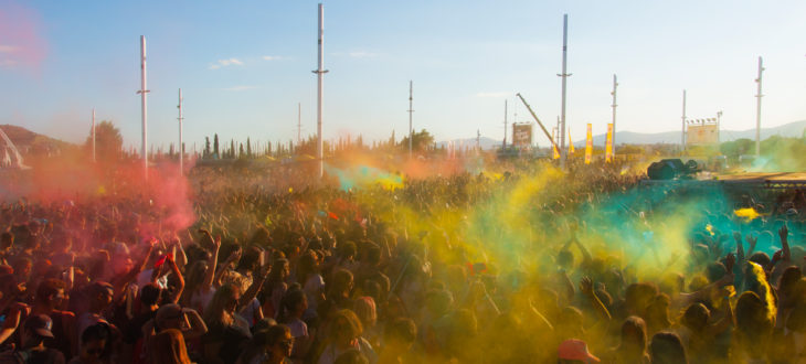 πάρτι του Colour Day Festival