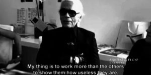 quotes του Karl Lagerfeld