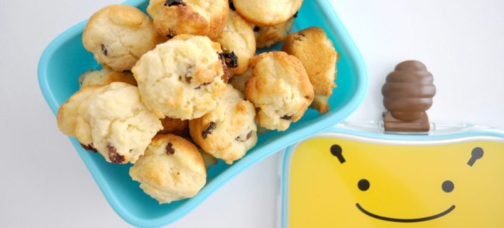 muffins με 3 υλικά