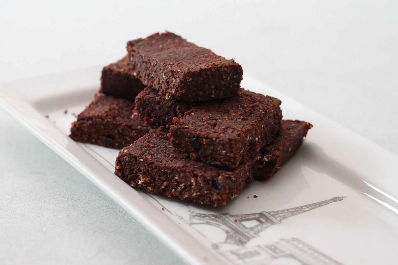 Brownies με 3 υλικά