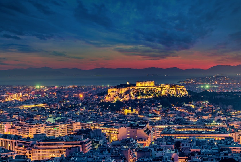 holidays in Athens